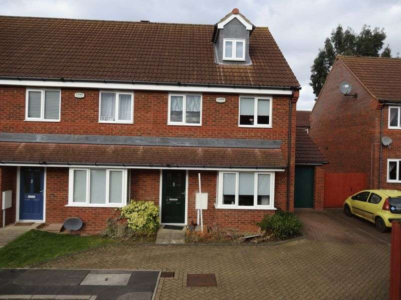 3 Bedrooms Terraced House for sale in Telfords Close, Corby