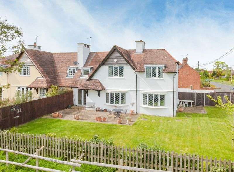 3 Bedrooms Semi Detached House for sale in Weston Turville