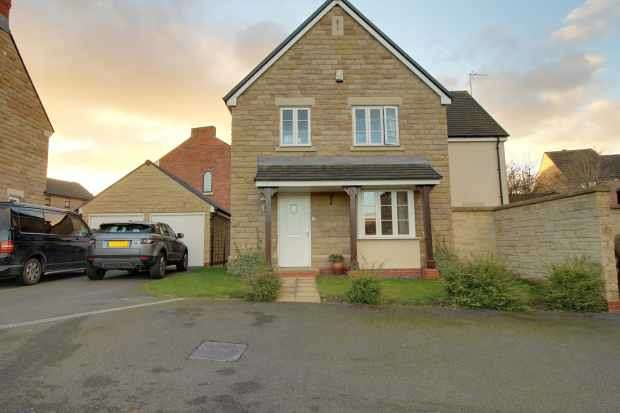4 Bedrooms Detached House for sale in Thorpe Field Mews, Rotherham, South Yorkshire, S61 2WB
