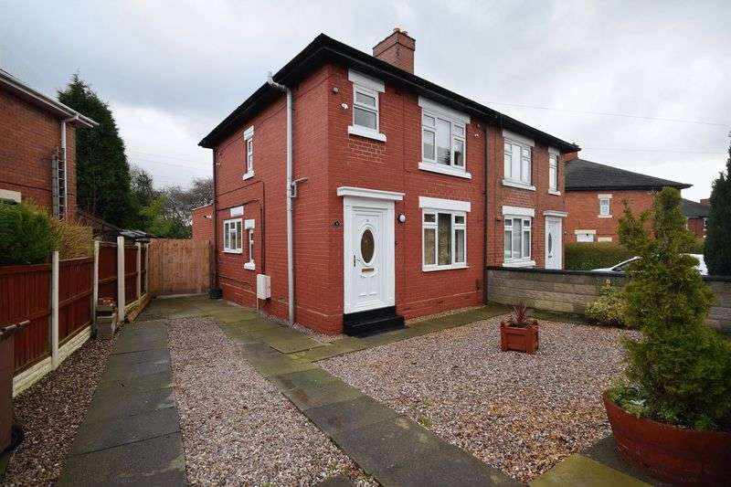 3 Bedrooms Semi Detached House for sale in Uplands Road, Abbey Hulton