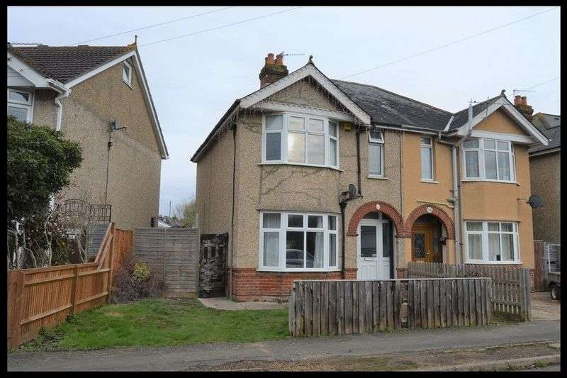 3 Bedrooms Semi Detached House for sale in Milverton Road, Eling, Totton