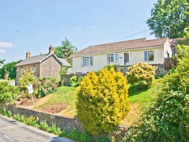 3 Bedrooms Detached Bungalow for sale in STOKE ST MICHAEL, Somerset