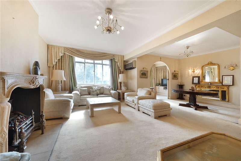 4 Bedrooms Flat for sale in Maitland Court, Lancaster Terrace, London, W2
