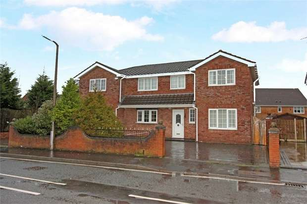 5 Bedrooms Detached House for sale in Nutgrove Hall Drive, St Helens, Merseyside