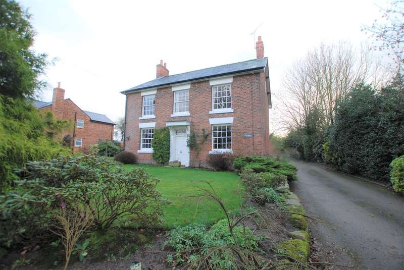 3 Bedrooms Detached House for sale in Wood Lane, Tattenhall