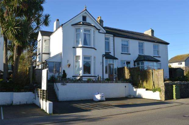 4 Bedrooms Semi Detached House for sale in St. Ives Road, Carbis Bay, St. Ives, Cornwall