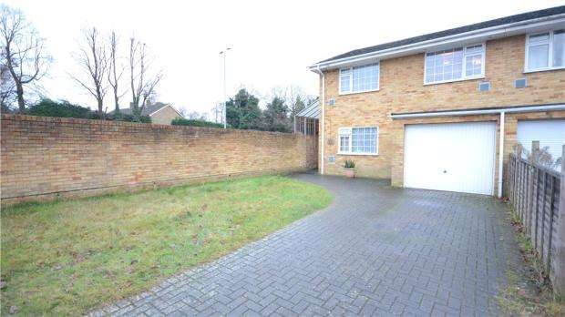4 Bedrooms Semi Detached House for sale in Glebewood, Bracknell, Berkshire