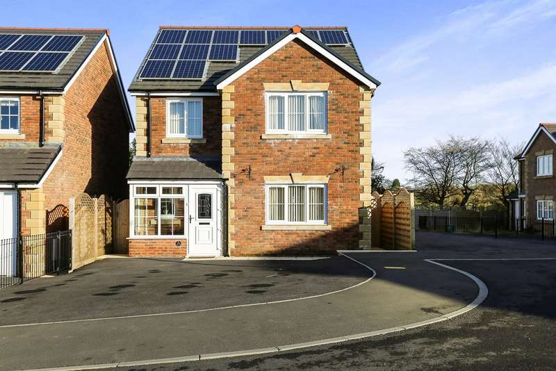 4 Bedrooms Detached House for sale in Cysgod Y Gors, Gorslas, Llanelli