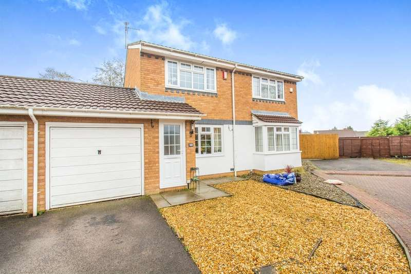 2 Bedrooms Semi Detached House for sale in Birchwood Gardens, Cardiff