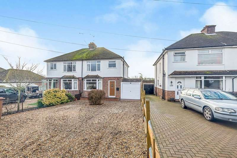 3 Bedrooms Semi Detached House for sale in Tonbridge Road, Teston, Maidstone, ME18
