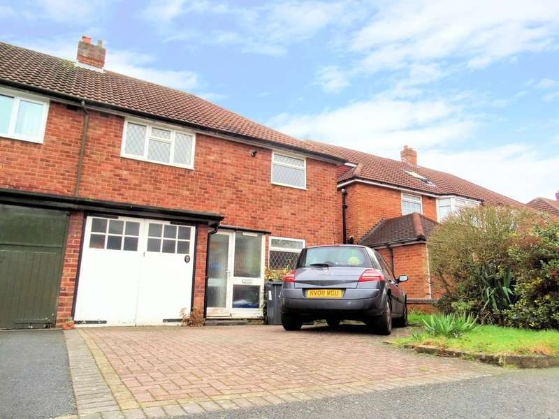 3 Bedrooms Semi Detached House for sale in Cambrai Drive, Hall Green