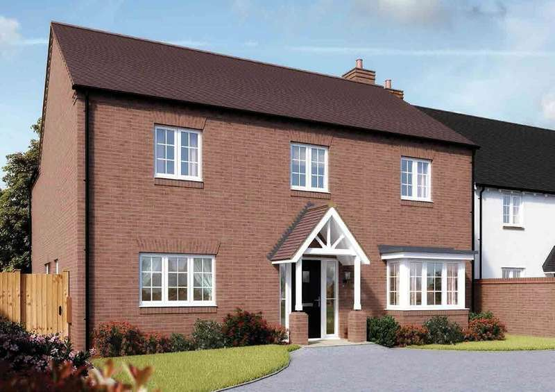 5 Bedrooms Detached House for sale in Plot 4 Pathways, Gaydon