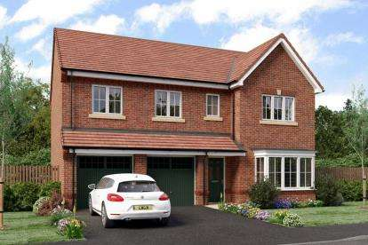 5 Bedrooms Detached House for sale in Heathlands, Hind Heath Road, Sandbach, Cheshire