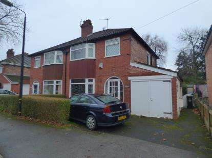3 Bedrooms Semi Detached House for sale in Leith Ave, Sale, Trafford, Greater Manchester