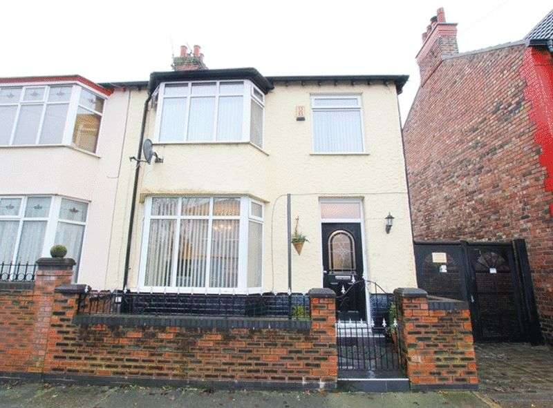 3 Bedrooms Semi Detached House for sale in Briardale Road, Mossley Hill, Liverpool, L18