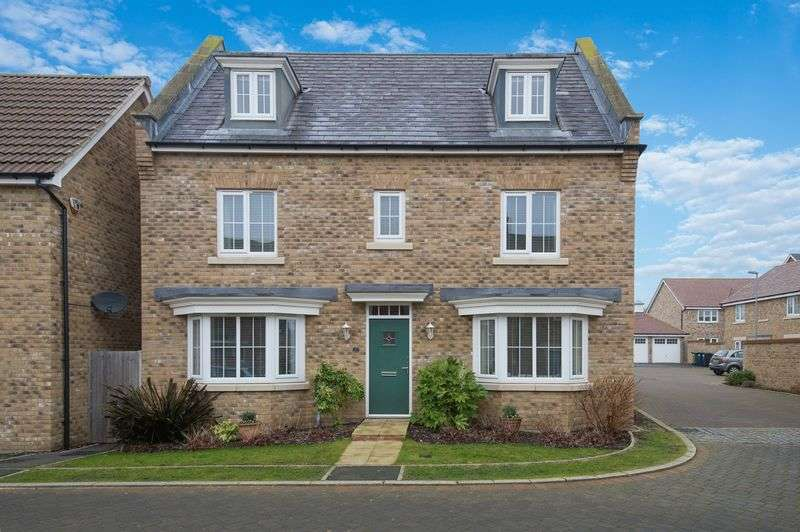 5 Bedrooms Detached House for sale in Middle Ground, St. Neots