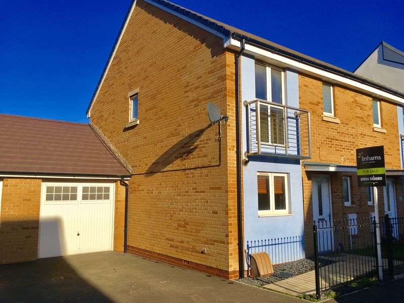 3 Bedrooms Semi Detached House for sale in Rapide Way, Weston-super-Mare