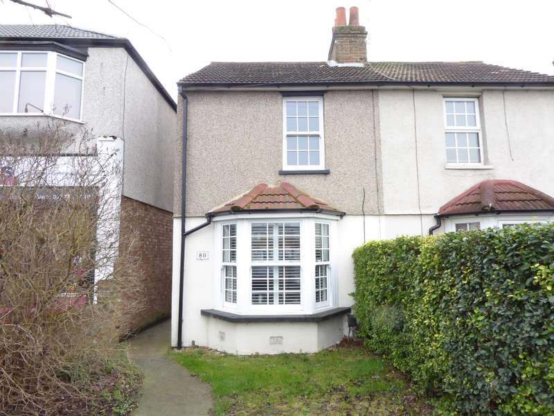 2 Bedrooms Semi Detached House for sale in Mayplace Road East, Bexleyheath, Kent, DA7 6DY
