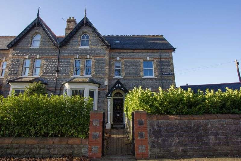 4 Bedrooms Semi Detached House for sale in Plymouth Road, Penarth