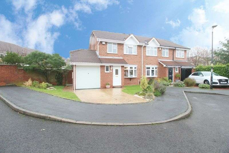 3 Bedrooms Semi Detached House for sale in Nevis Grove, Coppice Farm, Willenhall