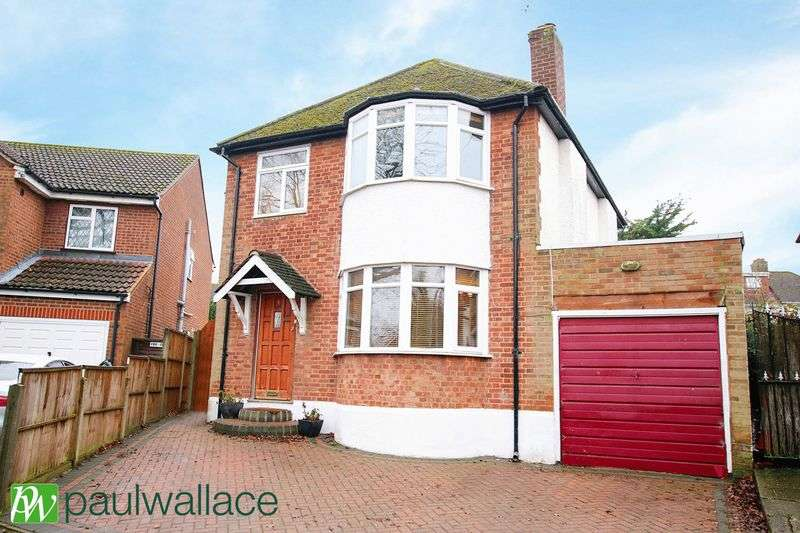 4 Bedrooms Detached House for sale in Holbeck Lane, West Cheshunt