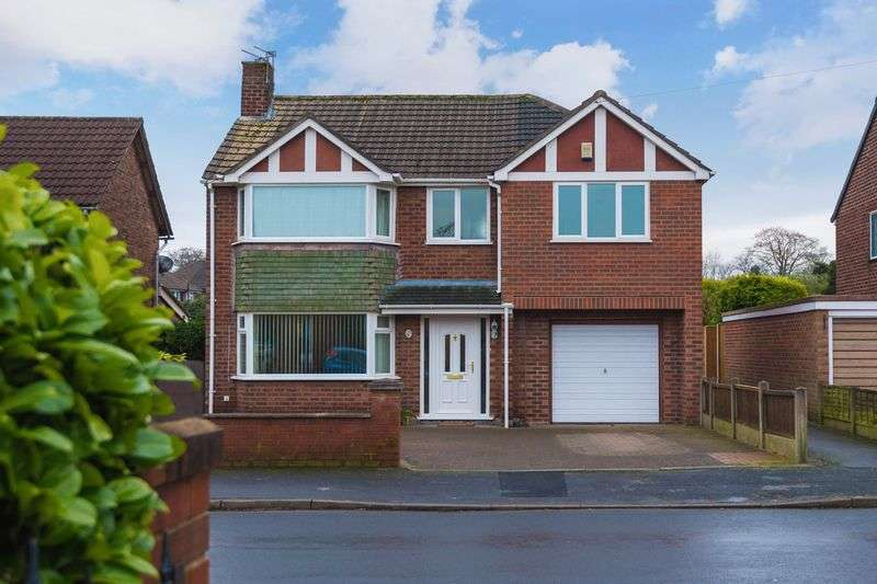 4 Bedrooms Detached House for sale in Barley Road, Warrington