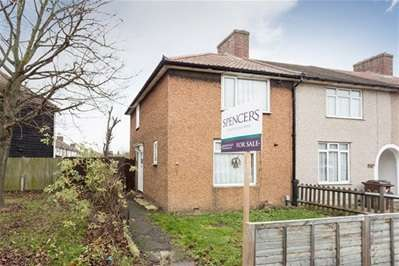 2 Bedrooms End Of Terrace House for sale in Hunters Hall Road, Dagenham