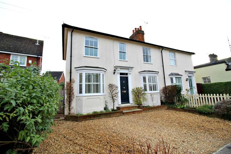 4 Bedrooms Semi Detached House for sale in Whinbush Road, Hitchin, SG5