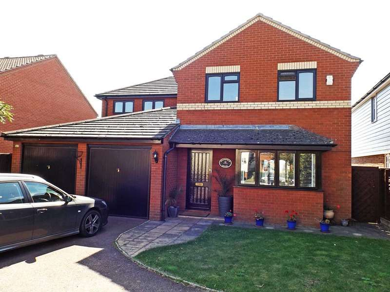 4 Bedrooms Detached House for sale in Steam Mill Rd, Bradfield, Essex, CO11