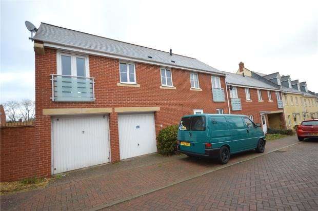 2 Bedrooms End Of Terrace House for sale in Edwards Court, Exeter, Devon