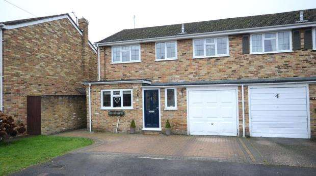 4 Bedrooms Semi Detached House for sale in Repton Close, Cox Green, Maidenhead