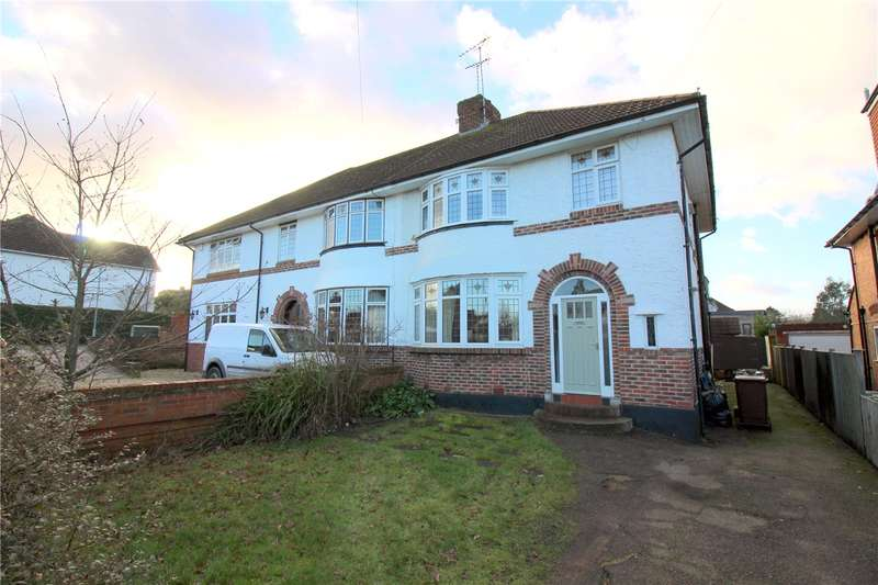 3 Bedrooms Semi Detached House for sale in Furzehill Road, Borehamwood, Hertfordshire, WD6