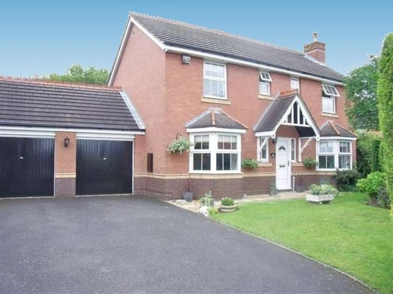 4 Bedrooms Detached House for sale in Betteridge Drive, New Hall, Sutton Coldfield, B76 1FN