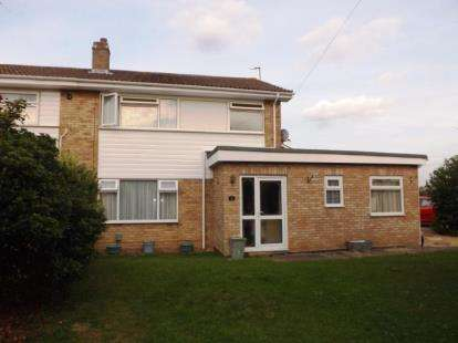 3 Bedrooms Semi Detached House for sale in Holme Court Avenue, Biggleswade, Bedfordshire