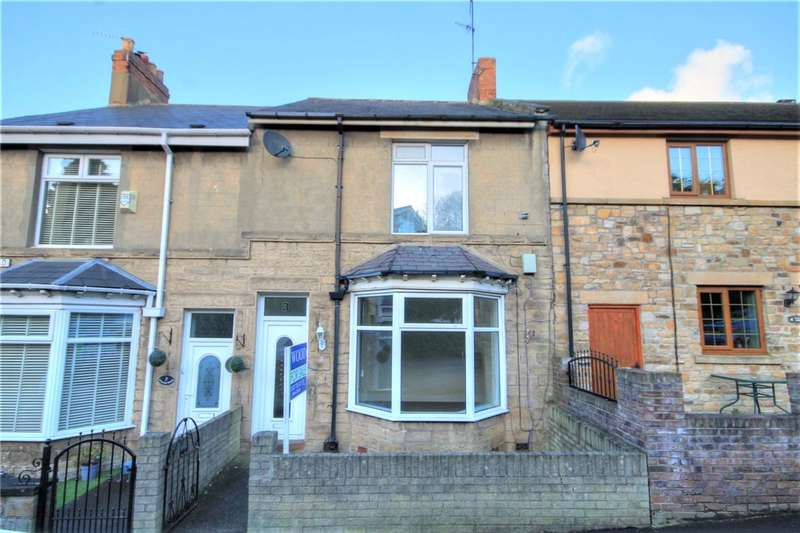 2 Bedrooms Terraced House for sale in Wylam Road, Stanley, Durham, DH9