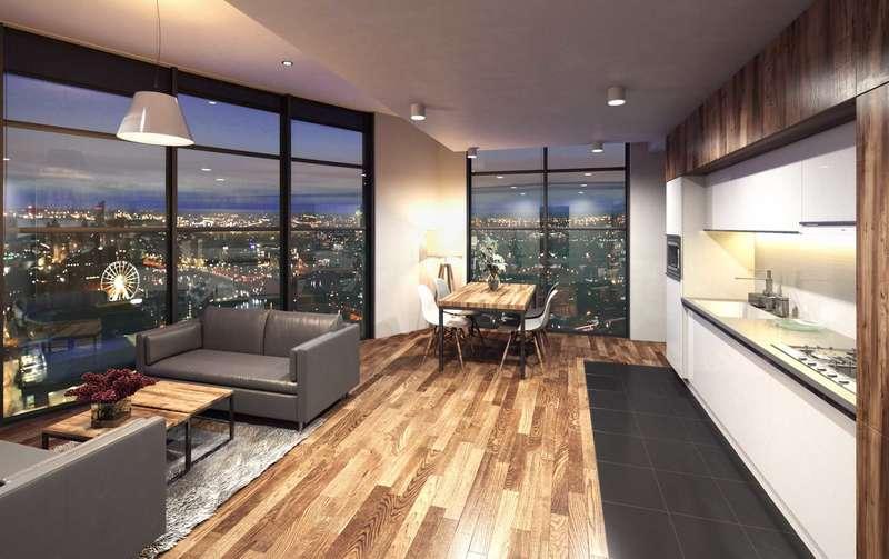 3 Bedrooms Apartment Flat for sale in Herculaneum Quay Riverside Drive, Liverpool, L3 4DJ