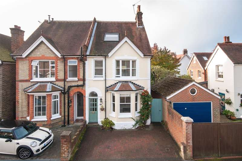 4 Bedrooms Semi Detached House for sale in Deerings Road, Reigate, Surrey, RH2
