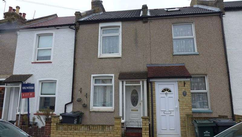 2 Bedrooms Terraced House for sale in Howard Road, Dartford