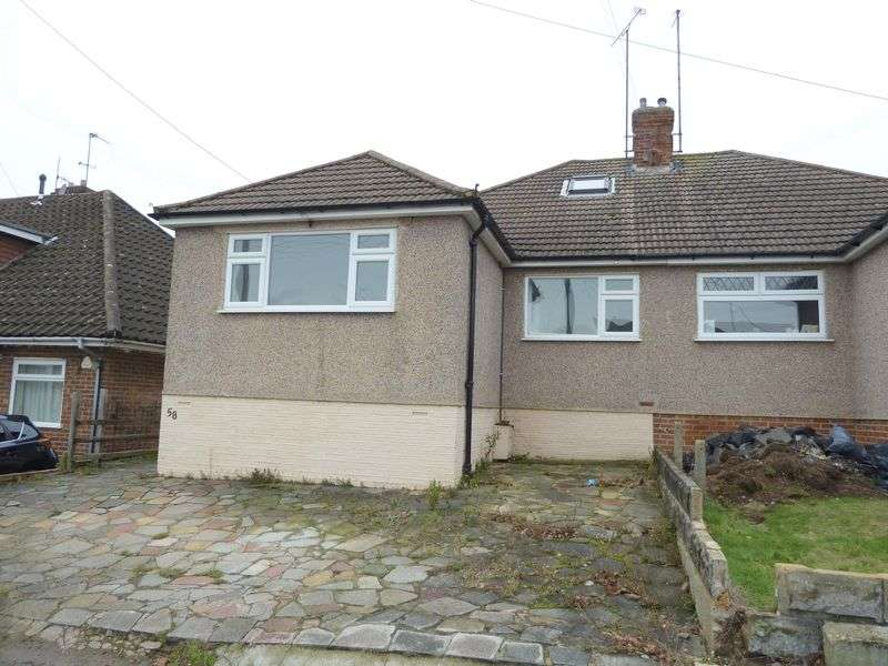 4 Bedrooms Semi Detached Bungalow for sale in Plantation Road, Swanley
