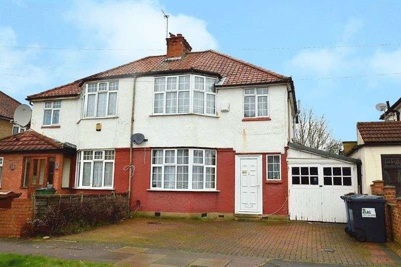 3 Bedrooms Semi Detached House for sale in Woodberry Avenue, North Harrow
