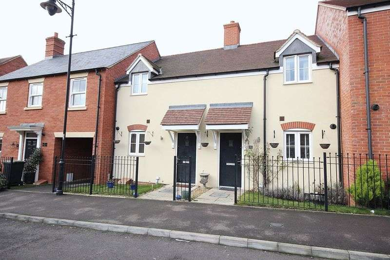 2 Bedrooms Terraced House for sale in Wagstaff Way, Ampthill