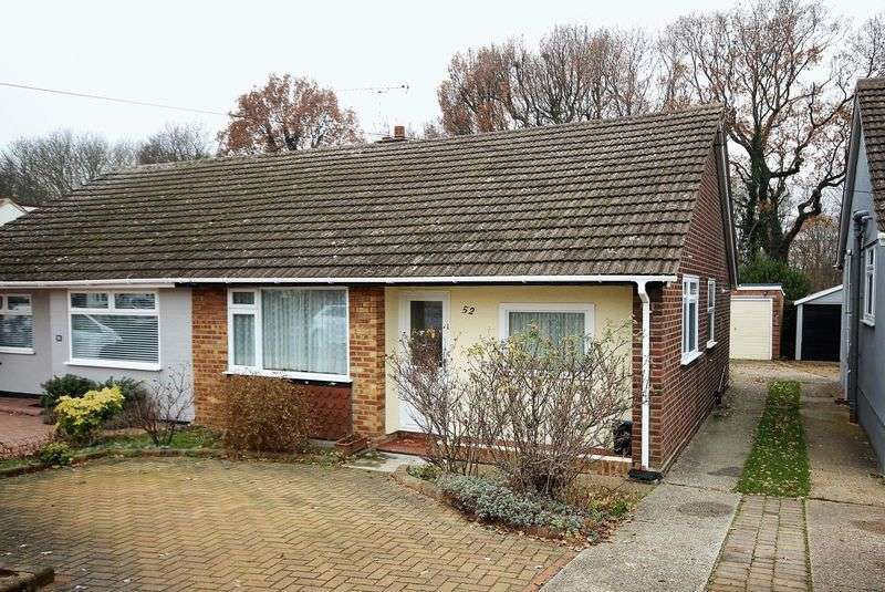 3 Bedrooms Semi Detached Bungalow for sale in Walton Gardens, Hutton, Brentwood