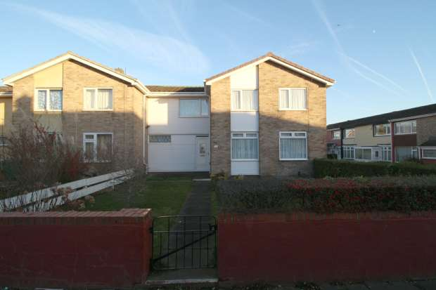 4 Bedrooms Terraced House for sale in Eddleston Walk,, Hartlepool, Cleveland, TS25 4AY