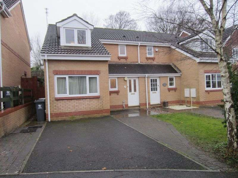 3 Bedrooms Semi Detached House for sale in Ramsons Way St Fagans Cardiff CF5 4QY