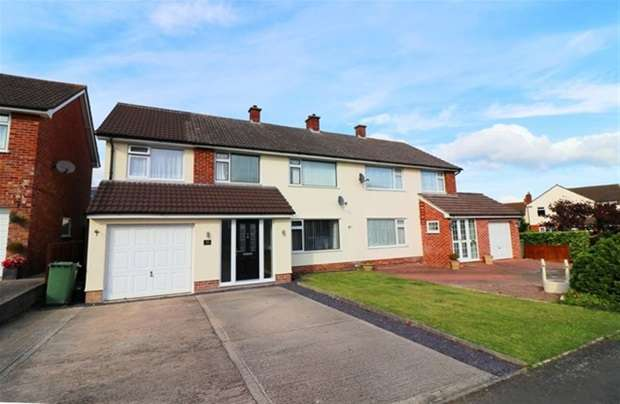 4 Bedrooms Semi Detached House for sale in Burley Gardens, Street