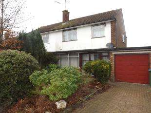 3 Bedrooms Semi Detached House for sale in Farhalls Crescent, Horsham, West Sussex