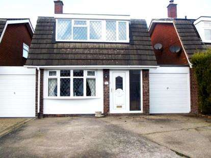 3 Bedrooms Link Detached House for sale in Birchfield Close, Wood End, Atherstone, Warwickshire
