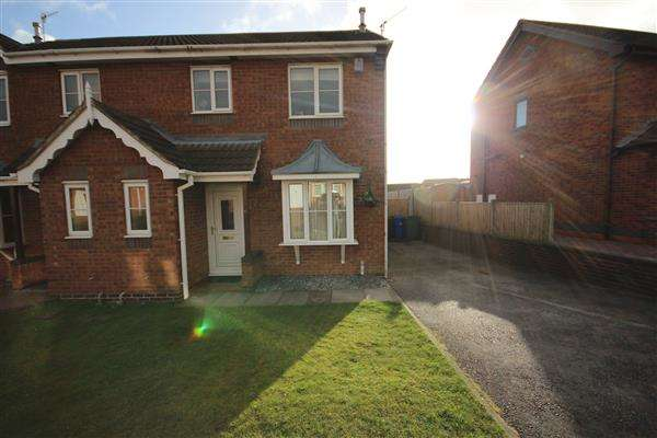 3 Bedrooms Semi Detached House for sale in Deanscroft Way, Meir Hay, Stoke-on-Trent