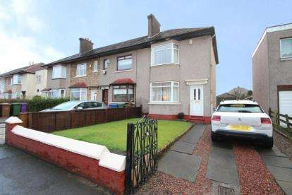 2 Bedrooms End Of Terrace House for sale in Barrachnie Road, Garrowhill, Glasgow, Lanarkshire
