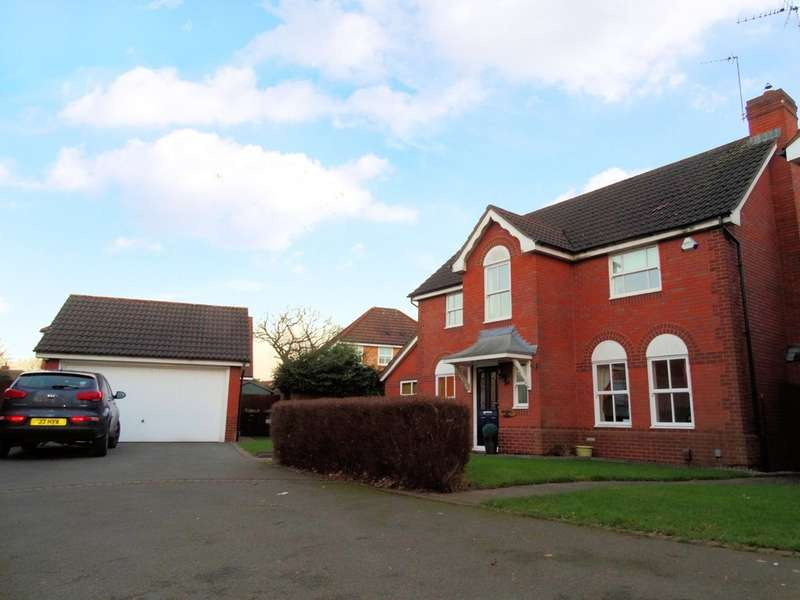 4 Bedrooms Detached House for sale in Glaston Drive, Solihull